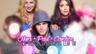"Nina + Paul + Candice | ""All We Need Is Somebody To Lean On"""