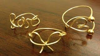 DIY Wire Wrap Rings (Midi And Regular)
