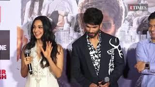 Kabir Singh Trailer Launch | Shahid Kapoor | Kiara Advani | UNCUT