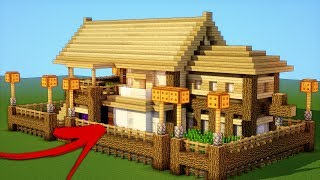 Minecraft Tutorial How To Make A Ultimate Wooden Survival House 2018 Minecraftvideos Tv
