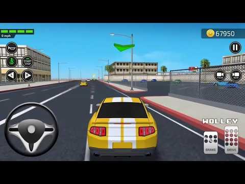 Академия вождения симулятор 3D Часть #3 от Games2win андроид игры   гонки машины видео