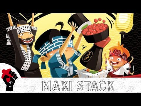Maki Stack Review - with Talking Board Games
