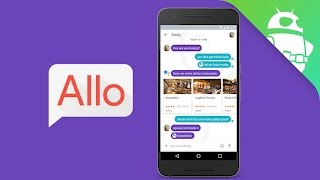 Google Allo - Friends might see your search history!