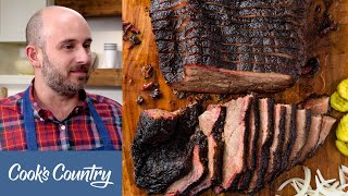 How To Make The Ultimate Texas Barbecue Brisket In Your Own Backyard