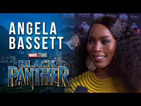 , title : 'Angela Bassett at Marvel Studios' Black Panther World Premiere Red Carpet'