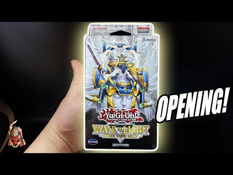 Yu-Gi-Oh! WAVE OF LIGHT STRUCTURE DECK OPENING & REVIEW! NEW FAIRY SUPPORT 2018 (TCG)