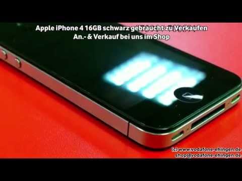 Apple iPhone 4 16GB schwarz gebraucht zu Verkaufen
