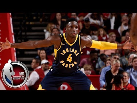 abc0d1870cd Victor Oladipo scores 23 as Indiana Pacers beat the Cleveland Cavaliers    NBA Preseason Highlights