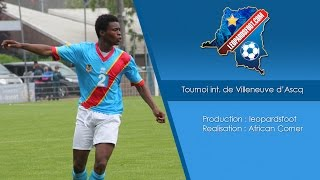 RD Congo U17 - Aile Europe - Tournoi internationale de Villeneuve d