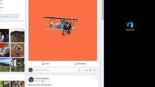 Facebook 3D Posts demo | Kholo.pk