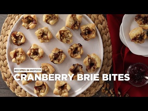 How to Make Cranberry Brie Bites | Appetizer Recipes | Allrecipes.com