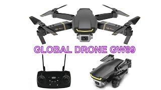 Радиоуправляемый Дрон для селфи GLOBAL DRONE FPV Full HD с камерой Квадрокоптер X Pro RTF GW89