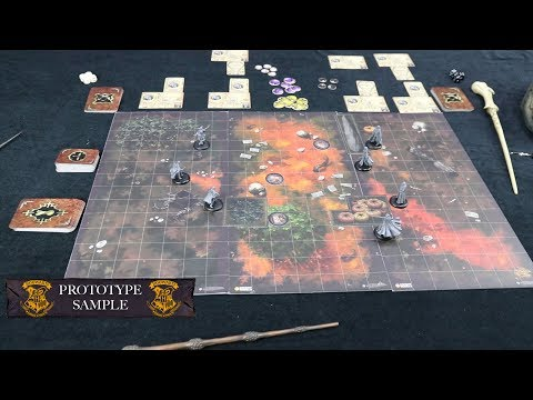 Harry Potter Miniatures Adventure Game / GAMEPLAY PART 2