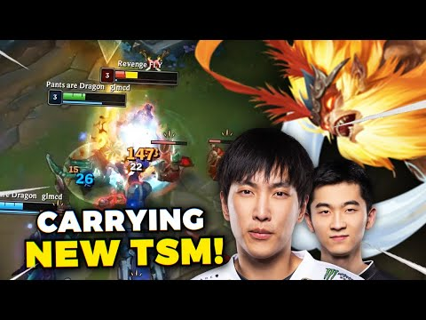 DAY 57 - CARRYING TSM DOUBLELIFT & BIOFROST IN CHALLENGER!! THE LOSS STREAK IS FINALLY OVER