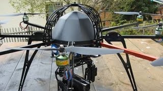 Kundenvideo/Tutorial Oktokopter/CFK fräsen mit CNC Fräse High-Z S-720T
