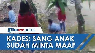 Beredar Video Remaja Perempuan Dorong Ibunya hingga Terjatuh, Kades Sebut sang Anak Sudah Minta Maaf