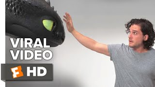 Kit Harington Auditions With Toothless (2019) | Movieclips Coming Soon