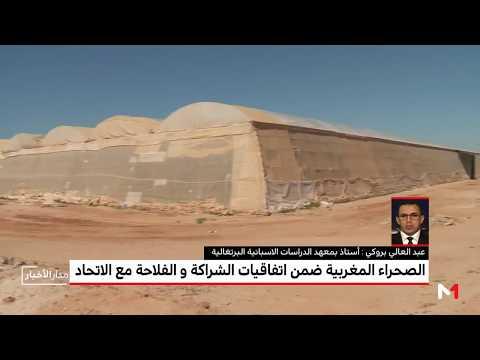العرب اليوم - بروكي يُوضّح أهمية دمج الصحراء المغربية في الاتفاق الفلاحي مع المملكة