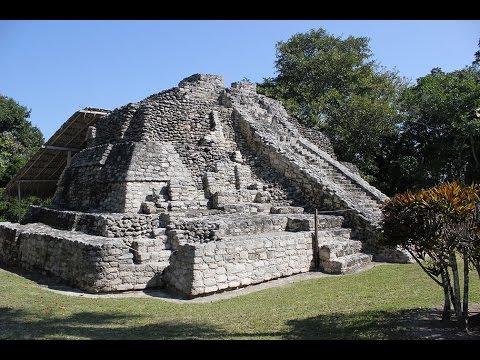Chacchoben Mayan Ruins 2-2015 Quintana Roo Mexico pyramids Mahahual