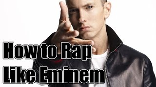 How to Rap Like Eminem for Beginners - How to Use Multis