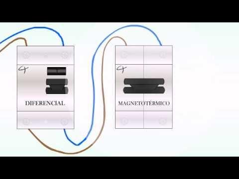 Como instalar un diferencial y/o magnetotermico (Tutorial rápido)