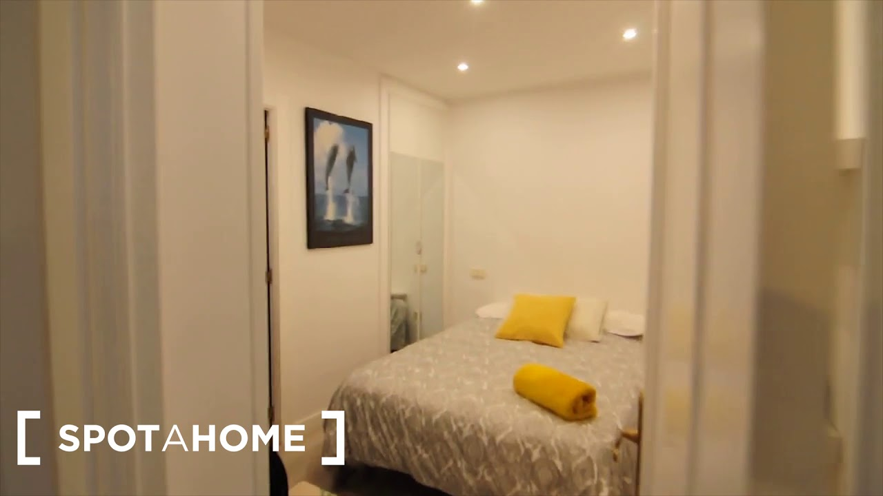 Modern 1-bedroom apartment for rent in Lavapiés