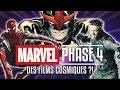 MARVEL: les films de la PHASE 4
