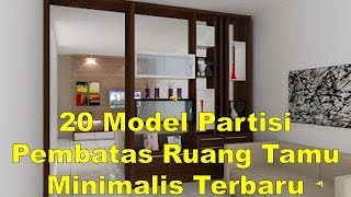 37 Model Partisi Ruang Tamu Minimalis Modern Wallpaperzenorg