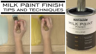 Add A Distressed, Chippy Look With Milk Paint Finish