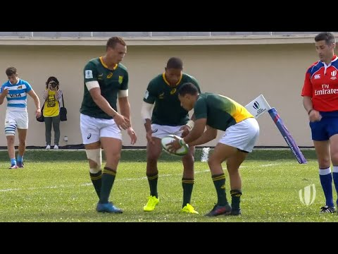 South Africa's amazing team work