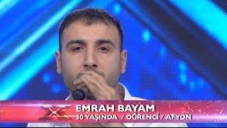 Emrah Bayam - Kaçak Performansı - X Factor Star Işığı