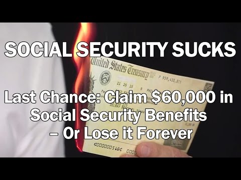 New Social Security Law: Claim $60,000 in Social Security Benefits