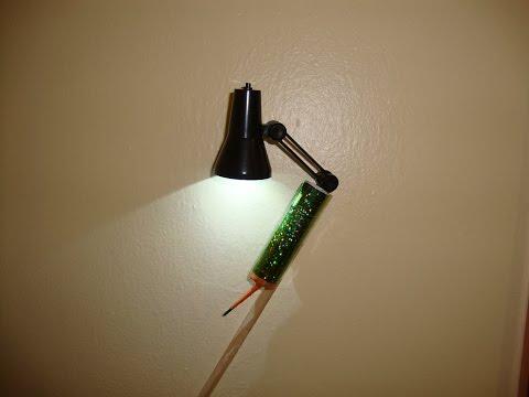LED Leselampe Rakete