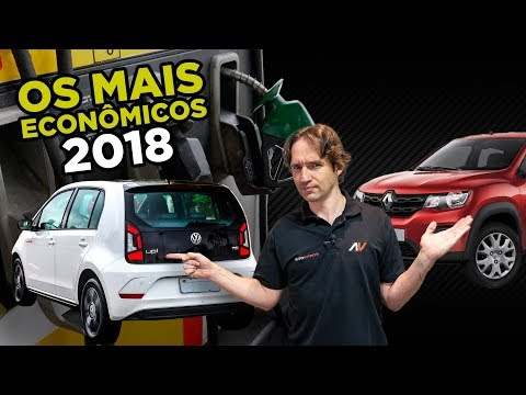 💰8 Carros mais Econômicos do Brasil em 2018 (Mas quais são seguros?)   AutoVideos