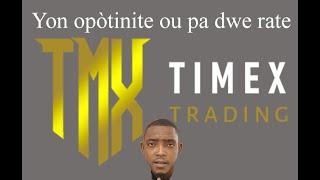 TimeXtrading yon opportunité ou pa dwe rate