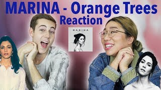 MARINA -  Orange Trees (REACTION!)