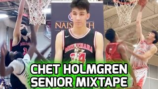 "7'1"" #1 RANKED Chet Holmgren Finishes High School a 4X STATE CHAMPION! Full Senior Season Mixtape 🔥"