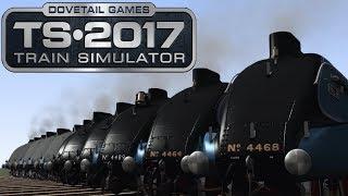 Train Simulator 2017 - Class A4 Best Race Ever! (Race!)