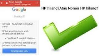Cara Masuk Akun Google Tanpa Kode Verifikasi самые популярные видео