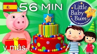 La canción de Cumpleaños feliz   Y muchas canciones infantiles para fiestas   ¡Littlebabybum!