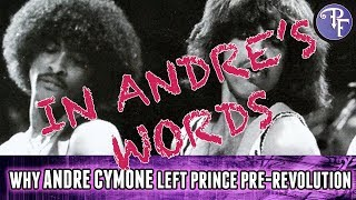 UPDATE: Why Andre Cymone and Prince Split (In Andre's Words)