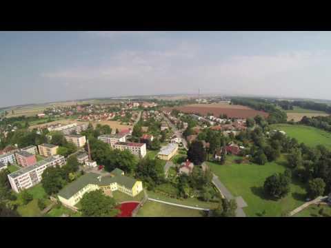 Opočno, Smiřice, Černilov z dronu