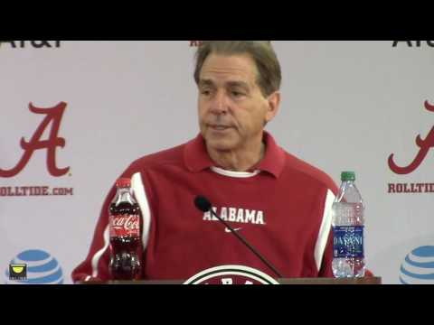 Nick Saban's final presser before team leaves for Peach Bowl