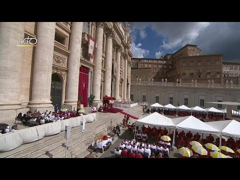 Messe et imposition du Pallium aux nouveaux archevêques métropolites