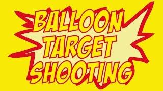 Garden Games Modern Pentathlon – Balloon Target Shooting