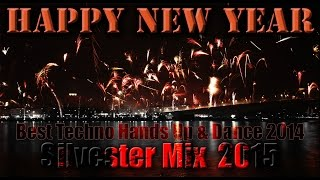 Techno Hands Up & Dance 2 HOURS 'Silvester' Mix #15 2015 - Best of 2014 by DJ Y0FR3DD0