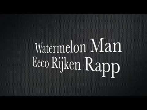 Eeco Rijken Rapp Live Gennep Holland 2009 Watermelon Man