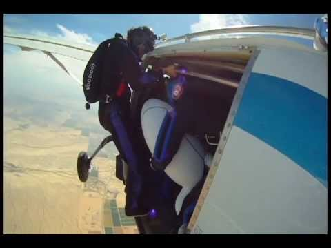 Ever Wanted To See A Portal Turret Go Skydiving? Well, Here You Go