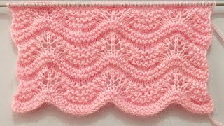 Beautiful And Easy Knitting Pattern For Sweater/Cardigan/Baby Blanket/Shawl