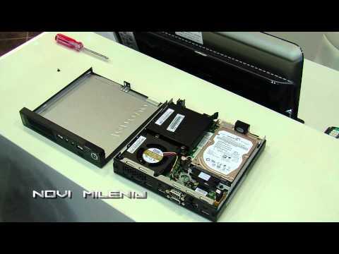 TENYÉRNYI MÉRETŰ 3. gen.,   Lenovo M72e  Tiny,     4 Gb ddr3,  SSD Kép